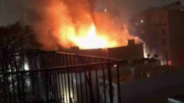 Fire Tears Through 3 Apartment Buildings in Bronx