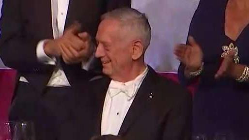 General Jim Mattis Cracks Trump Joke At Al Smith Dinner