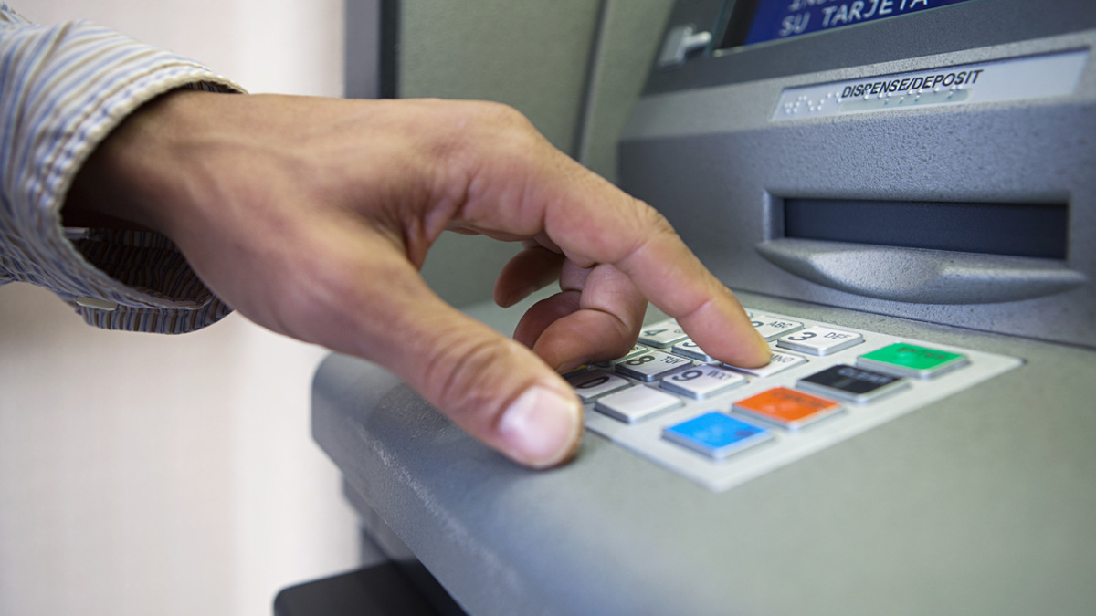 File- According to a recent survey from Bankrate.com, ATM fees have surged to a 10- year high.