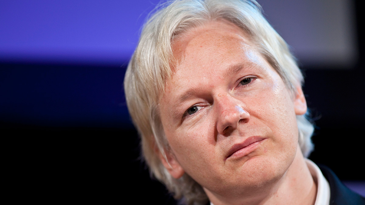 File photo: Julian Assange, editor in chief of WikiLeaks, attends the Hay Festival on June 4, 2011 in Hay-on-Wye, Wales. Assange continued to promise that a big reveal would be leaked before the U.S. presidential election.