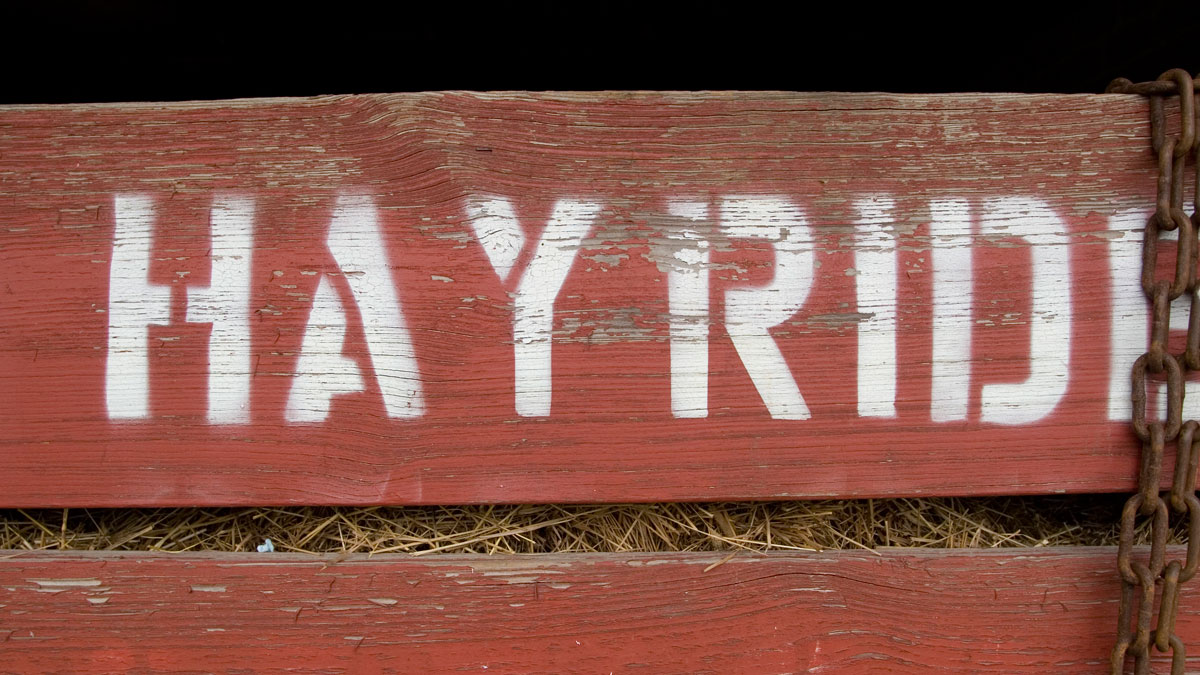 A file image of a hayride trailer. Three people were killed in a rural Mississippi hayride crash on Monday, authorities told NBC News.