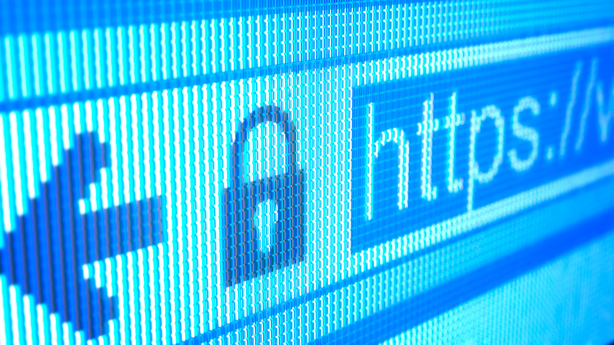 Secure website.