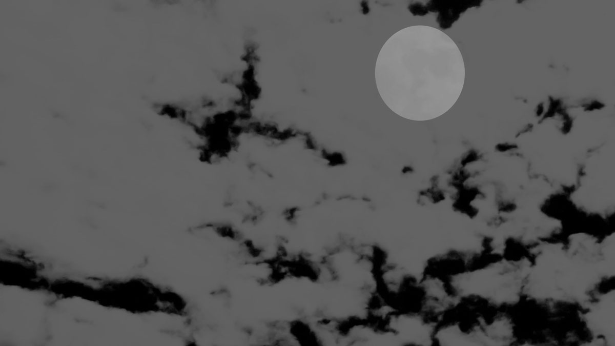 """File image of a dark sky. On Sept. 30, the """"black moon"""" will rise in the sky, but catching a glimpse of it might prove impossible."""