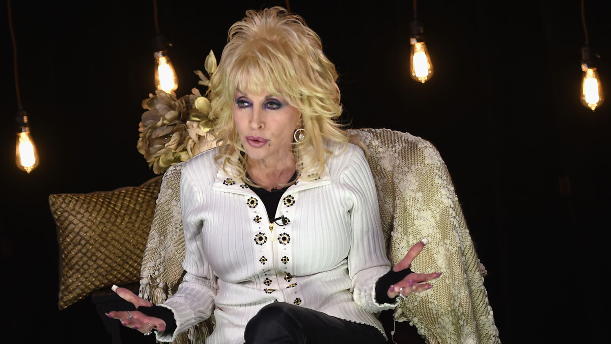 Dolly Parton talks about her 2016 North American tour on March 8, 2016, in Nashville, Tennessee.