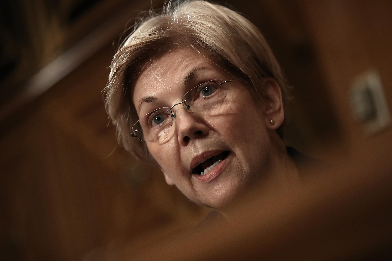 Sen. Elizabeth Warren (D-MA) (File photo by Win McNamee/Getty Images)
