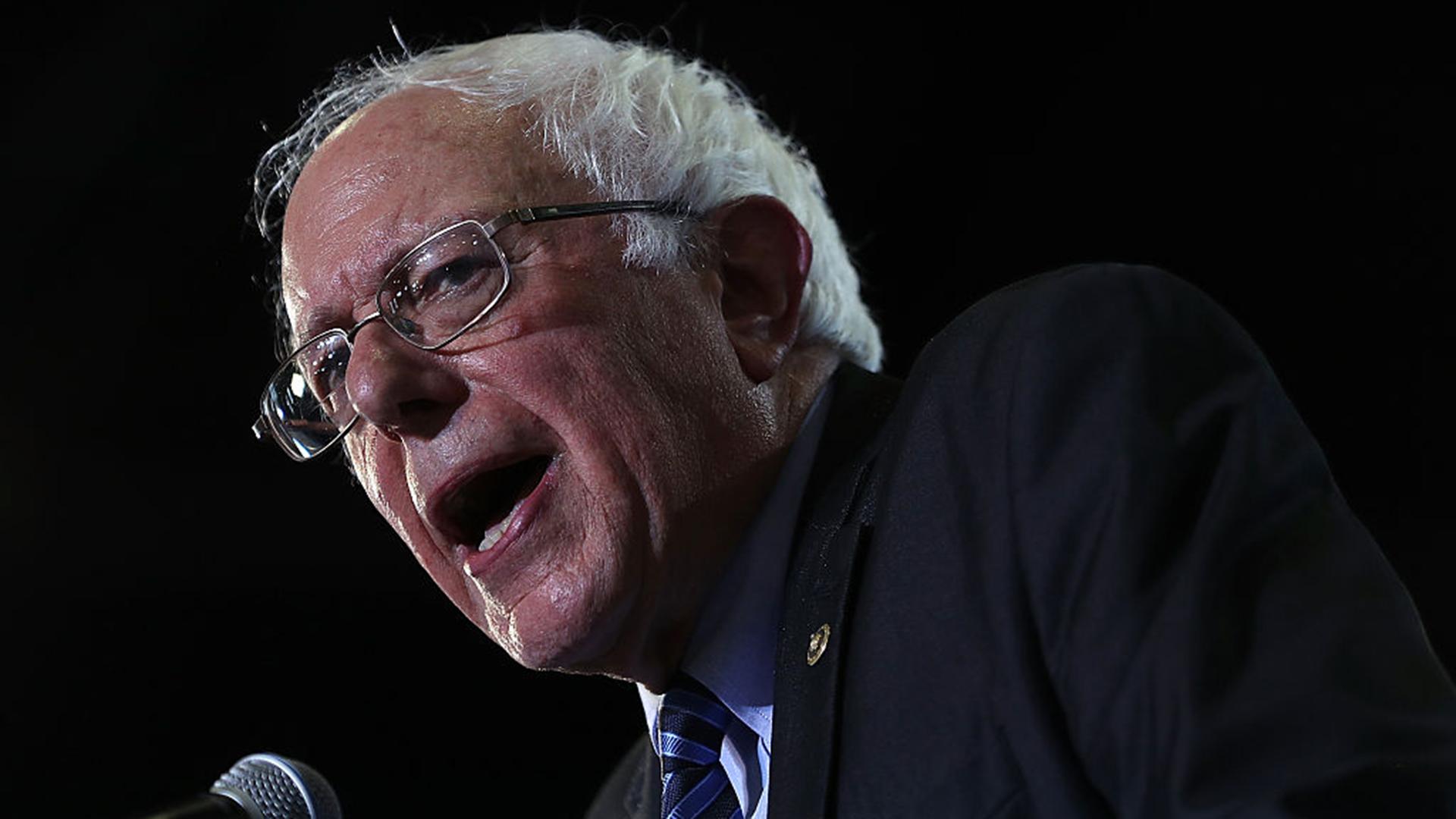 Sen. Bernie Sanders is pictured in this stock photo.