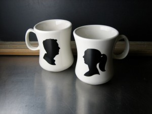 His-and-Hers Mugs by Brooklyn Rehab