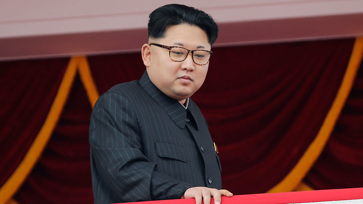 In this May 10, 2016, file photo, North Korea's leader Kim Jong Un watches a parade from a balcony at the Kim Il Sung Square in Pyongyang. The U.S. State Department issued a warning to anyone wishing to travel there that they may be inadvertently funding the country's nuclear program.