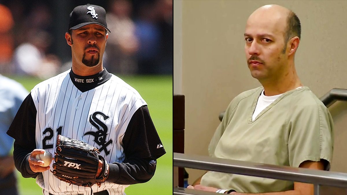 Esteban Loaiza In A Chicago White Sox Uniform In July  L And In Court Wednesday