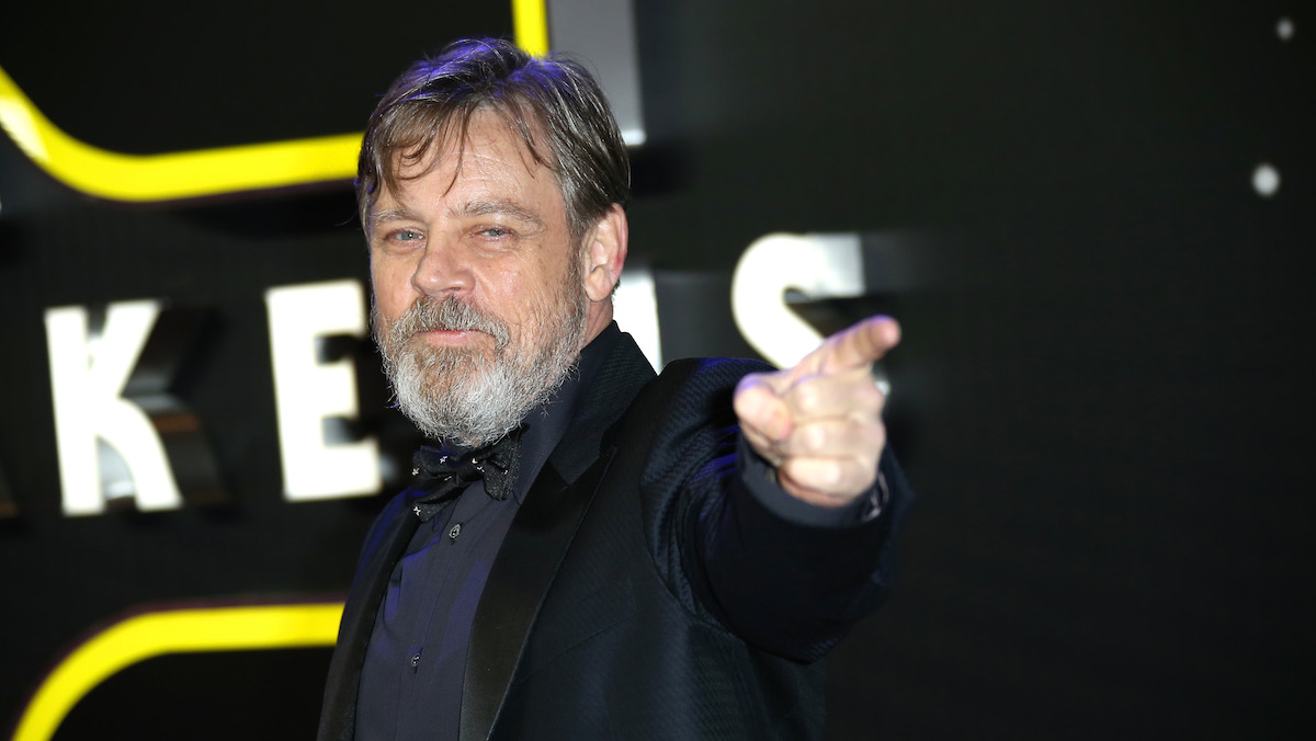Mark Hamill poses for photographers upon arrival at the European premiere of the film 'Star Wars: The Force Awakens ' in London, Wednesday, Dec. 16, 2015.