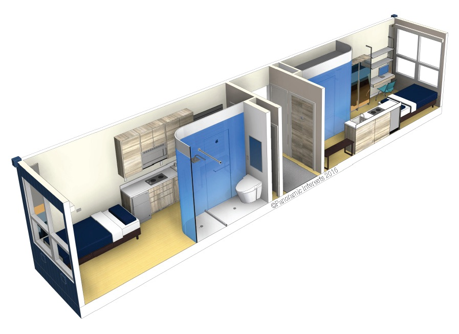 Berkeley exploring prefab micro units to house the for Prefab units
