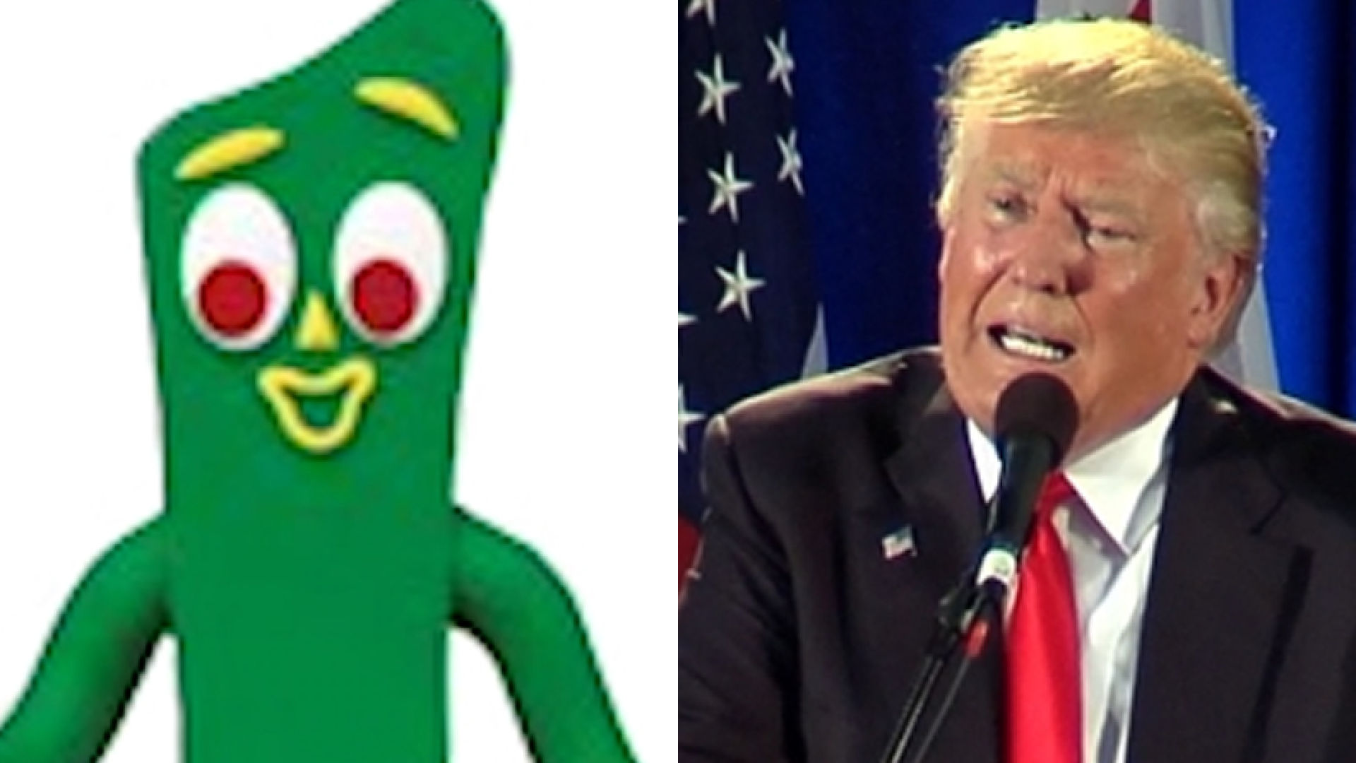 for grumpy gumby trump story