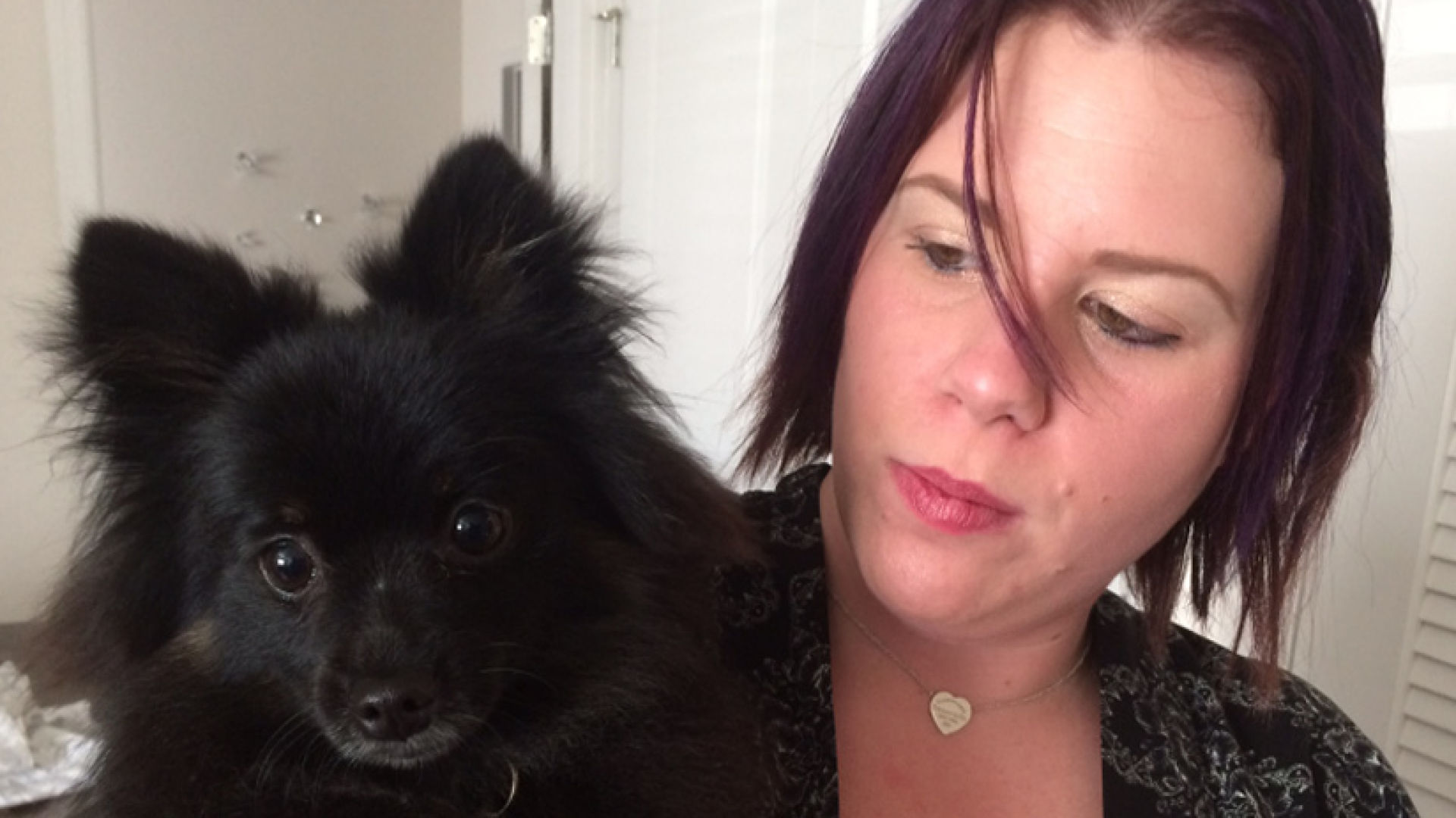 Florida woman says she was denied service despite doctor's note declaring her Pomeranian a service dog.