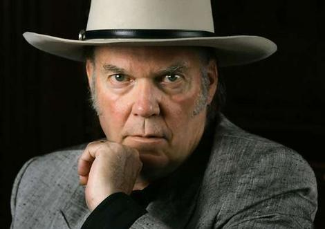 Neil Young Backs Up His Wife At The Bell House