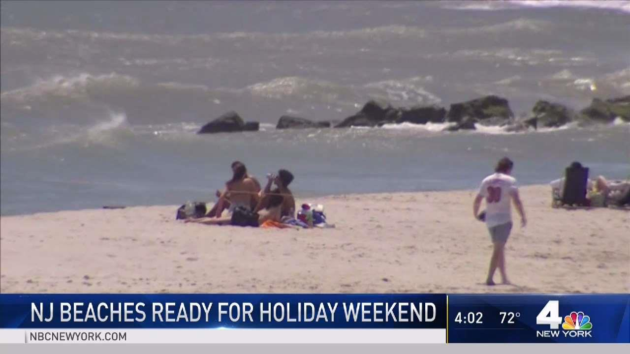NJ Beaches Ready for Holiday Weekend