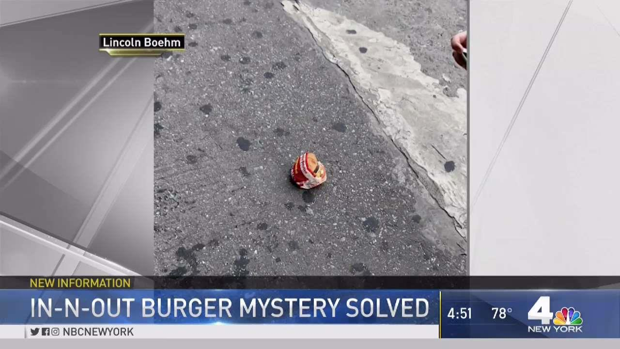 NYC In-N-Out Burger Mystery Solved?