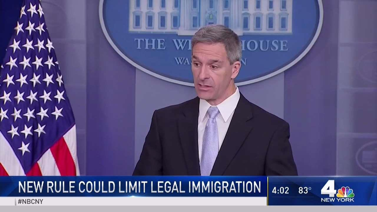 New Rule Could Limit Legal Immigration