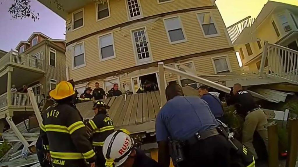 New Surveillance Video of NJ Deck Collapse
