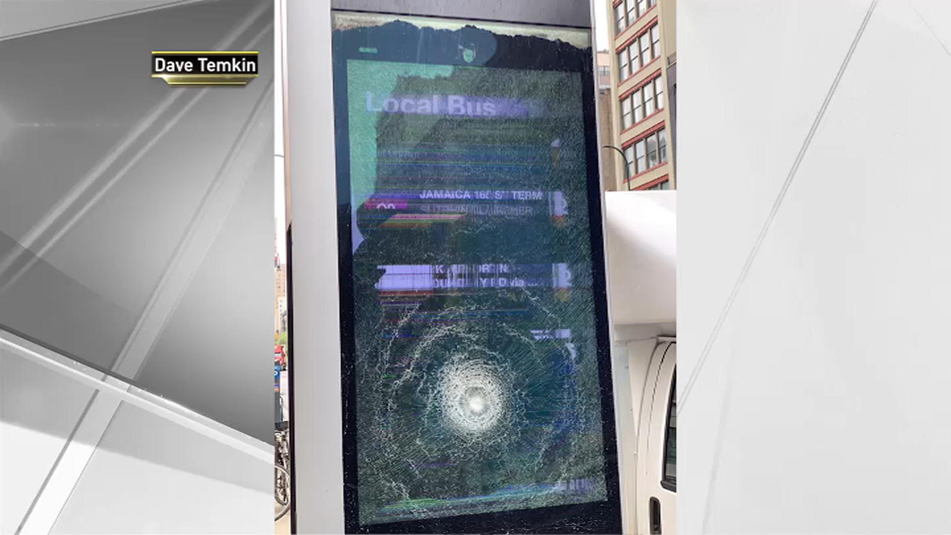 Vandal Smashes 30 LinkNYC Kiosk Screens, Spokesperson Says