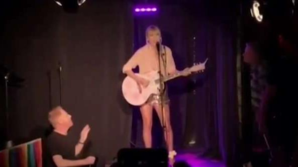 Taylor Swift Gives Surprise Stonewall Inn Performance