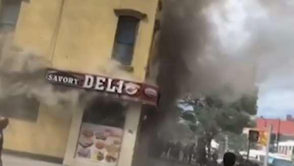 Three People Rescued From Fire at Hamilton Heights Deli