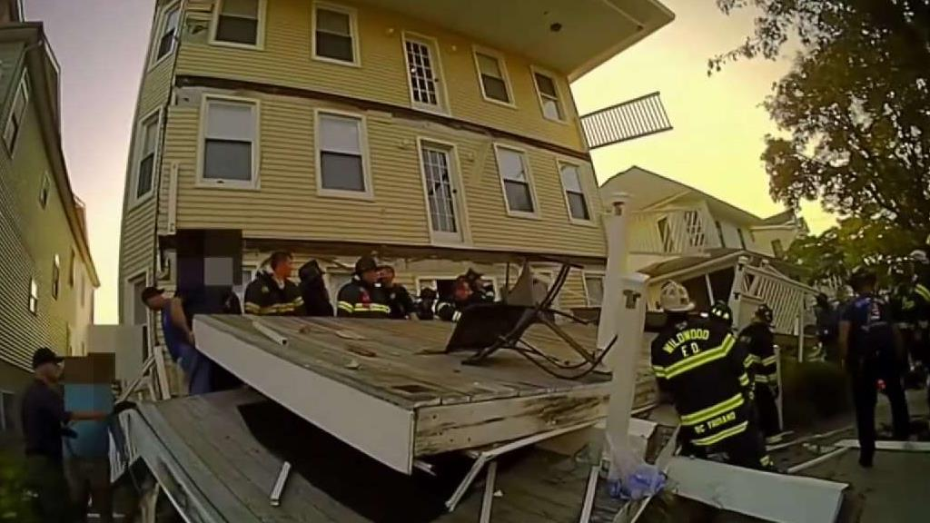 Who is Investigating Cause of NJ Deck Collapse?