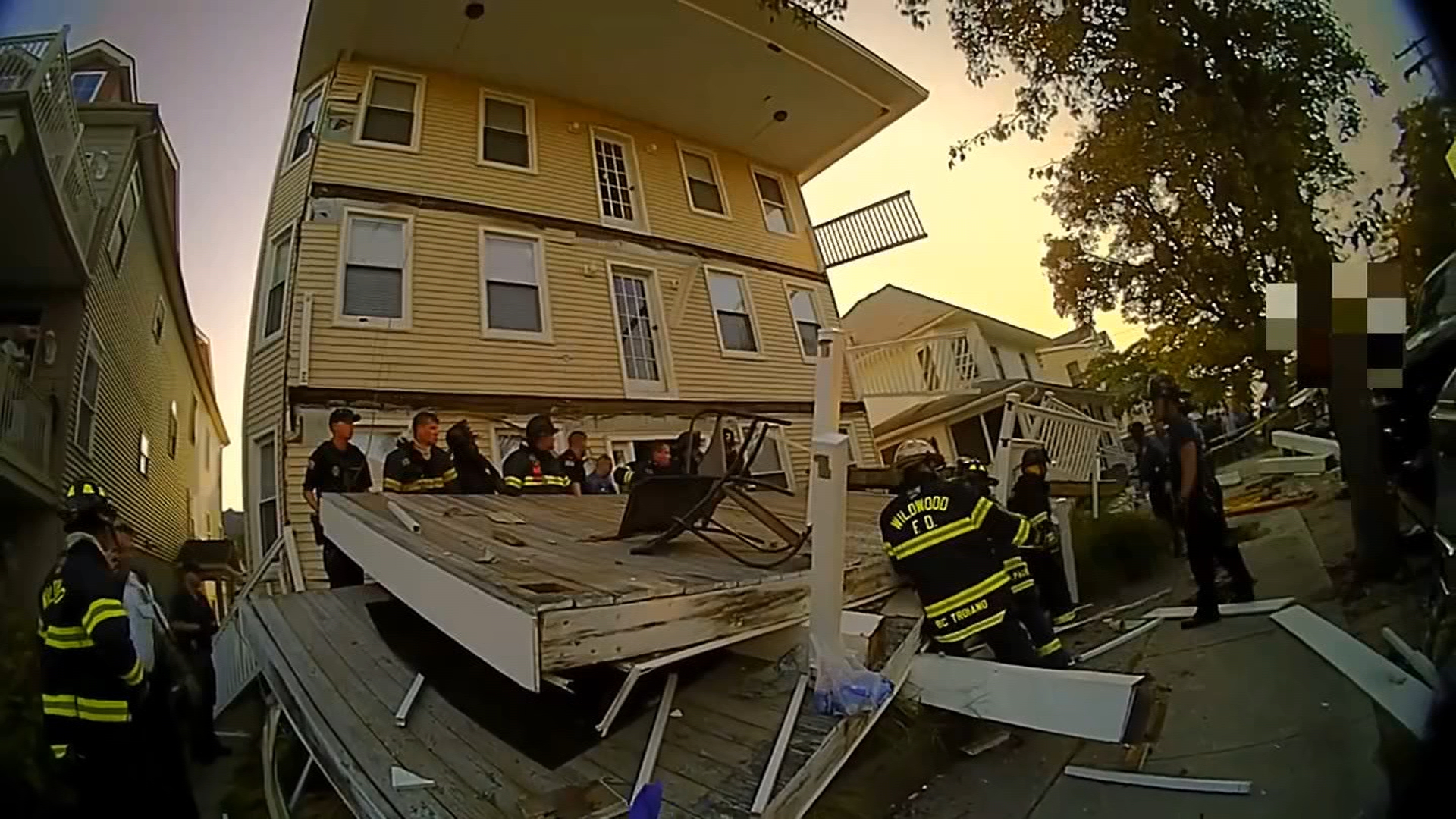 New Videos Show NJ Deck Collapse, Frantic Rescue Effort