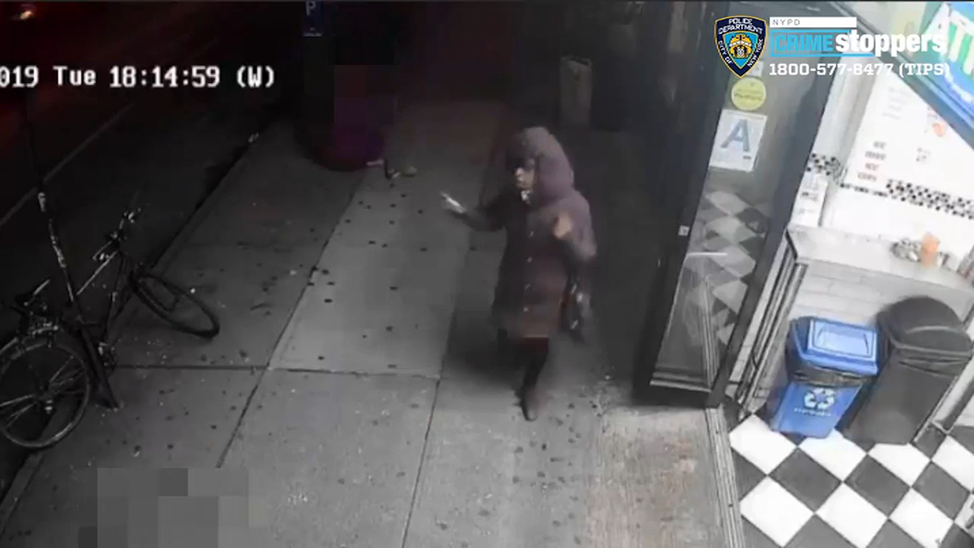 Woman, 72, Randomly Punched on Manhattan Sidewalk: Police