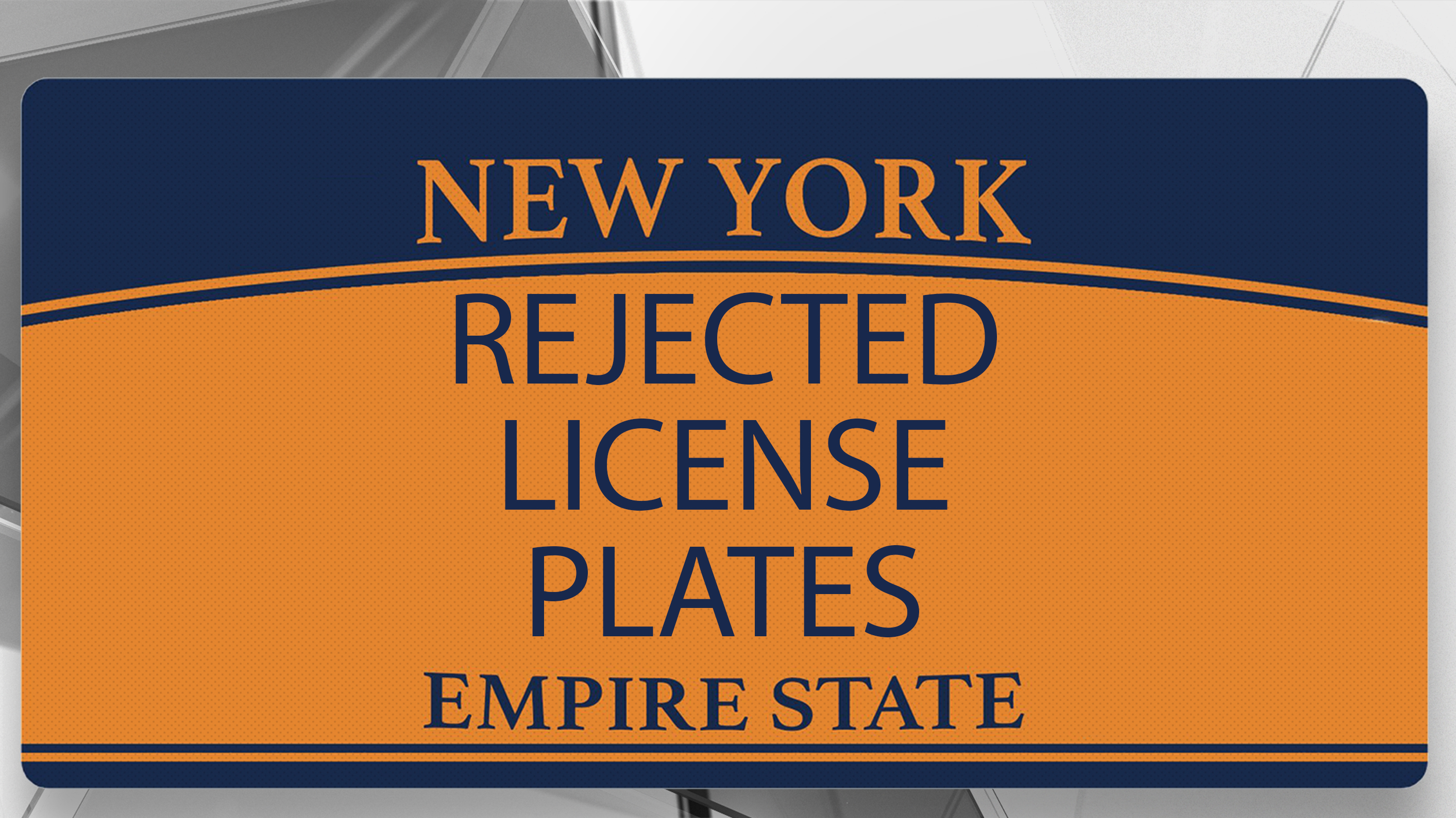 Returning Plates To Dmv Ny >> These Are 90 Of The Weirdest License Plates Rejected By The New York Dmv