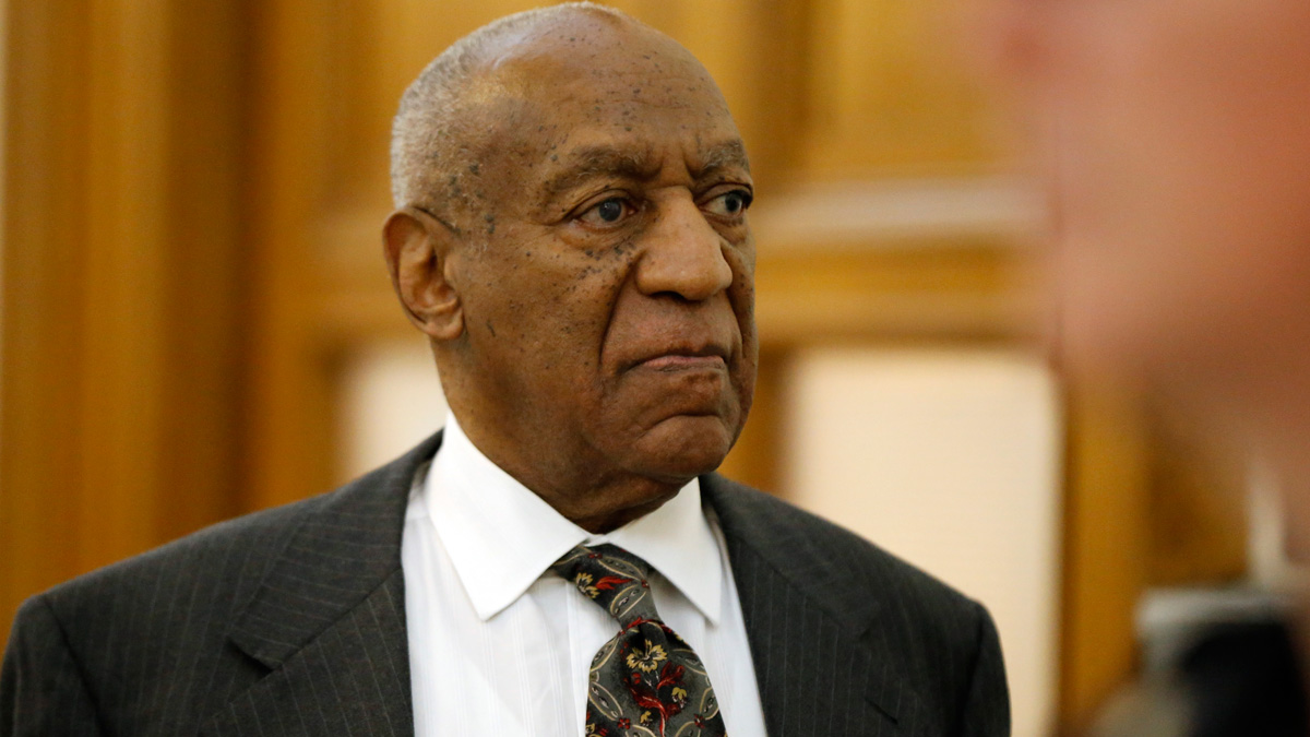 In this file photo, Bill Cosby departs the Montgomery County Courthouse after a preliminary hearing, May 24, 2016, in Norristown, Pennsylvania.
