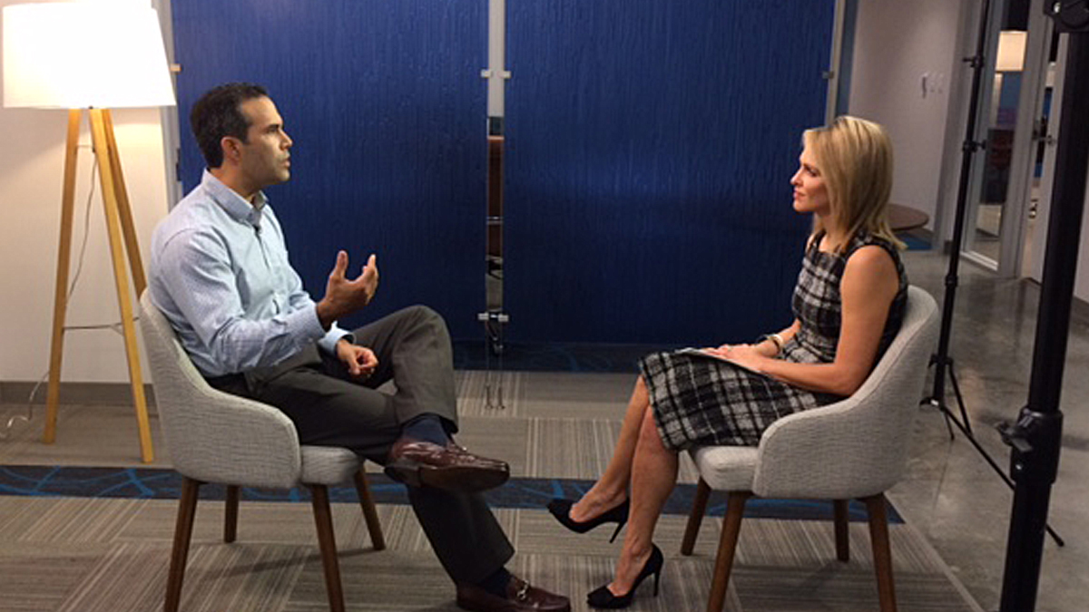 George P. Bush, the only member of the Bush family to campaign for President-elect Donald Trump, tells NBC 5's Meredith Land he is his own man and a team player when it comes to the GOP.