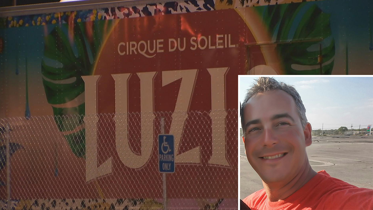 """Olivier Rochette of Quebec died setting up for the """"Luzia"""" Cirque du Soleil show in San Francisco, Nov. 29, 2016."""