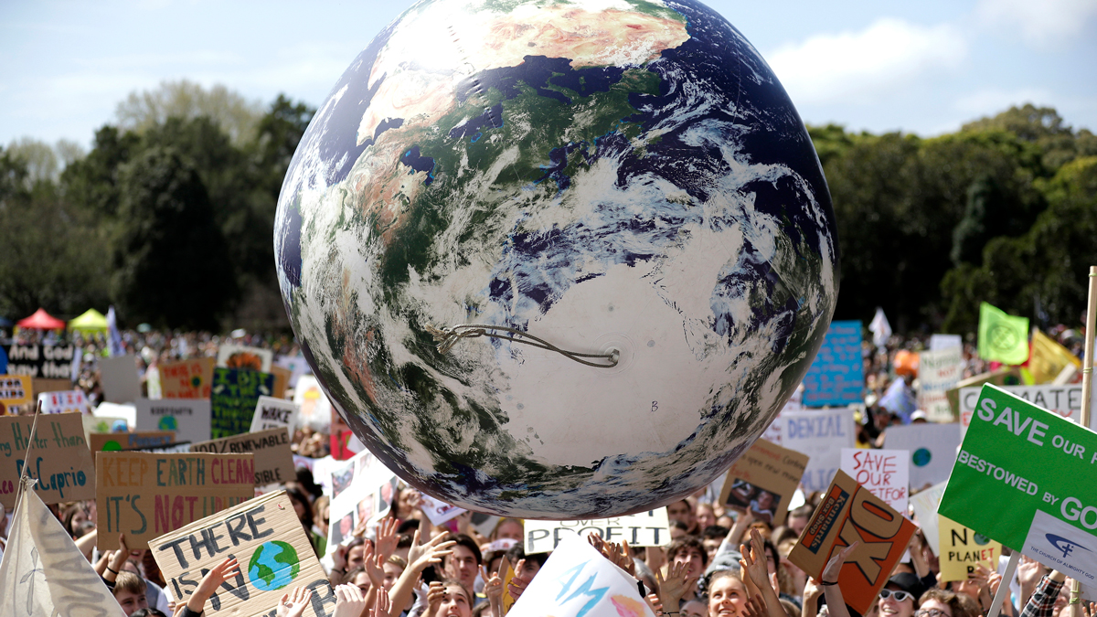 Happening Today: Climate Strike, Apple Store, Area 51