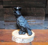 Crow Candleholder