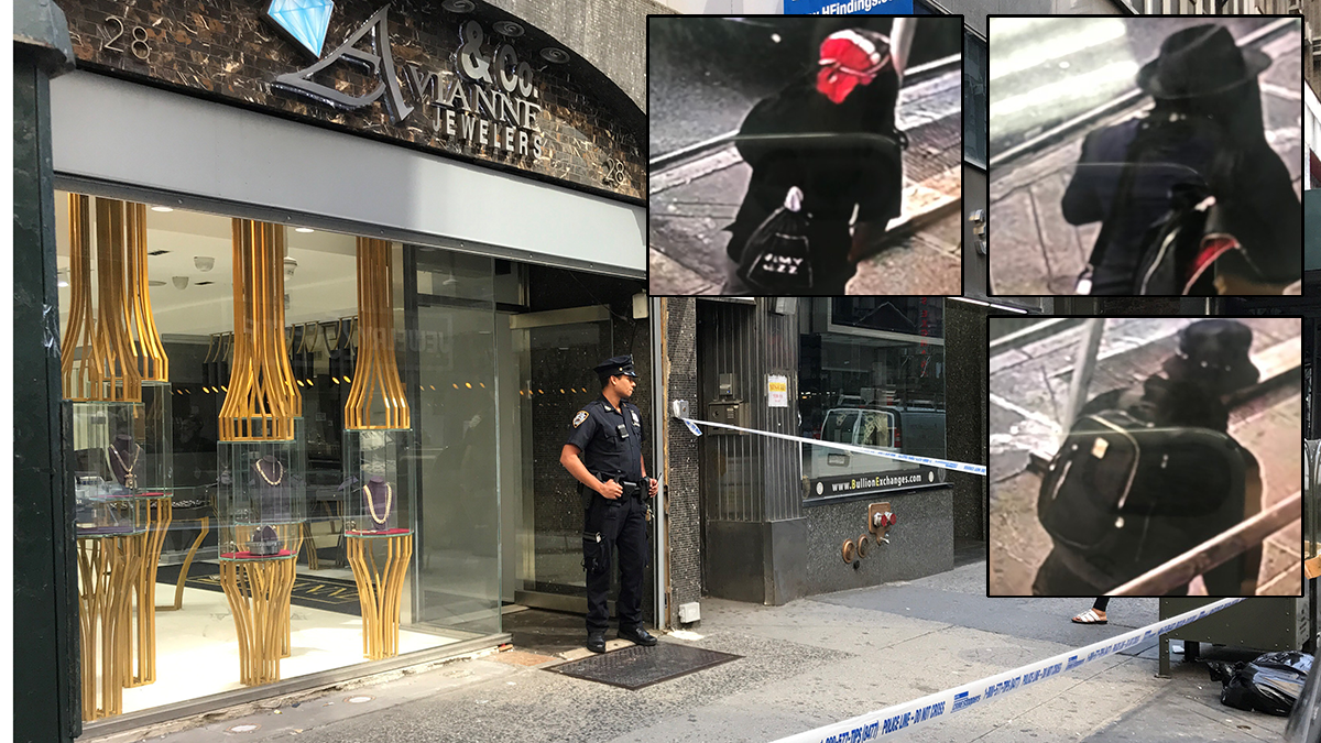 Robbers Tie Up Workers During $4M Heist in Diamond District