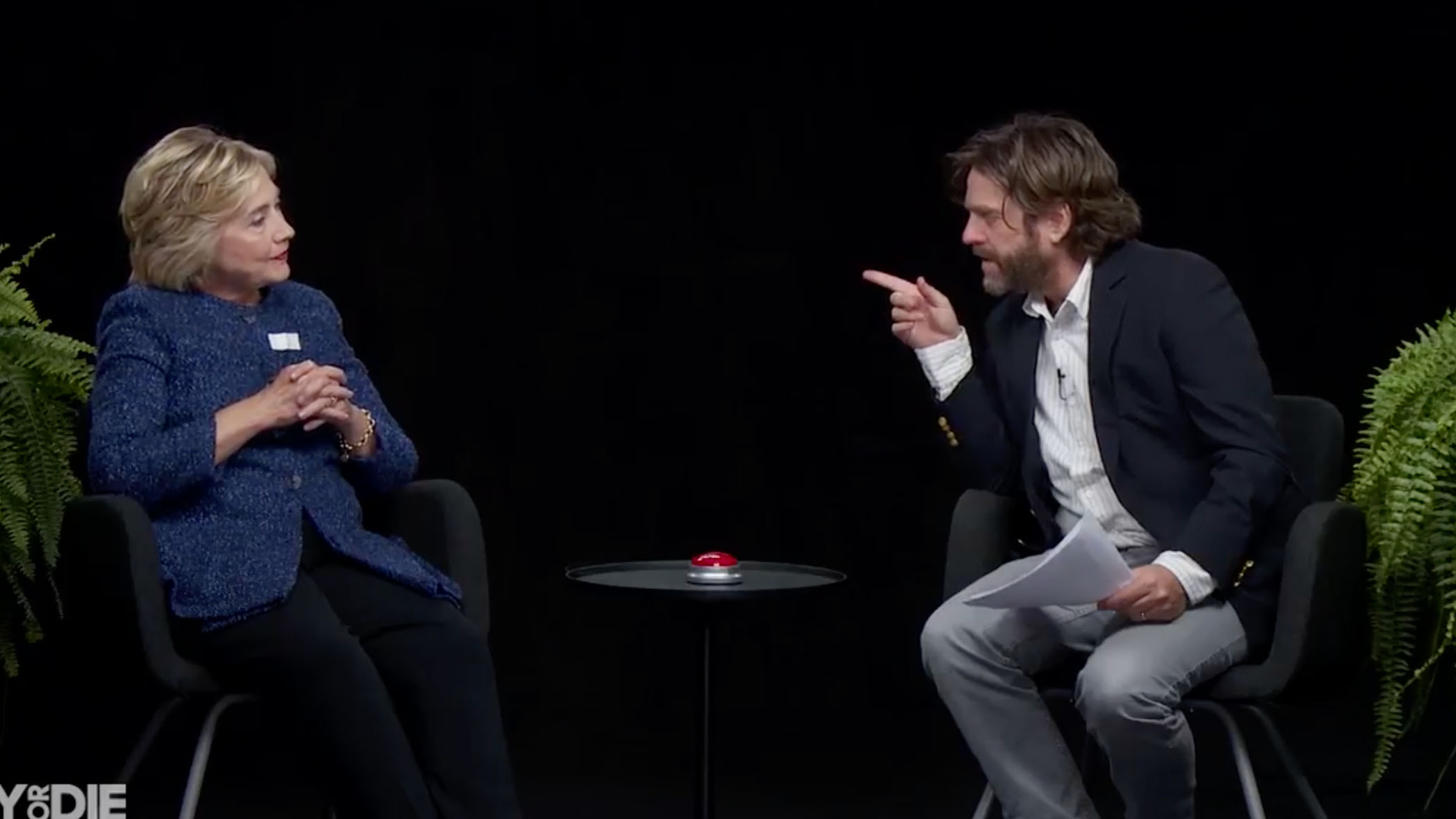 Hillary Clinton appeared on an episode of Funny or Die's