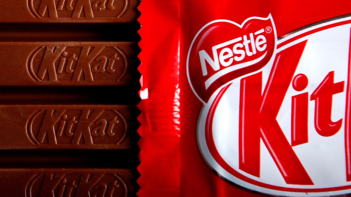 A file photo of KitKats.
