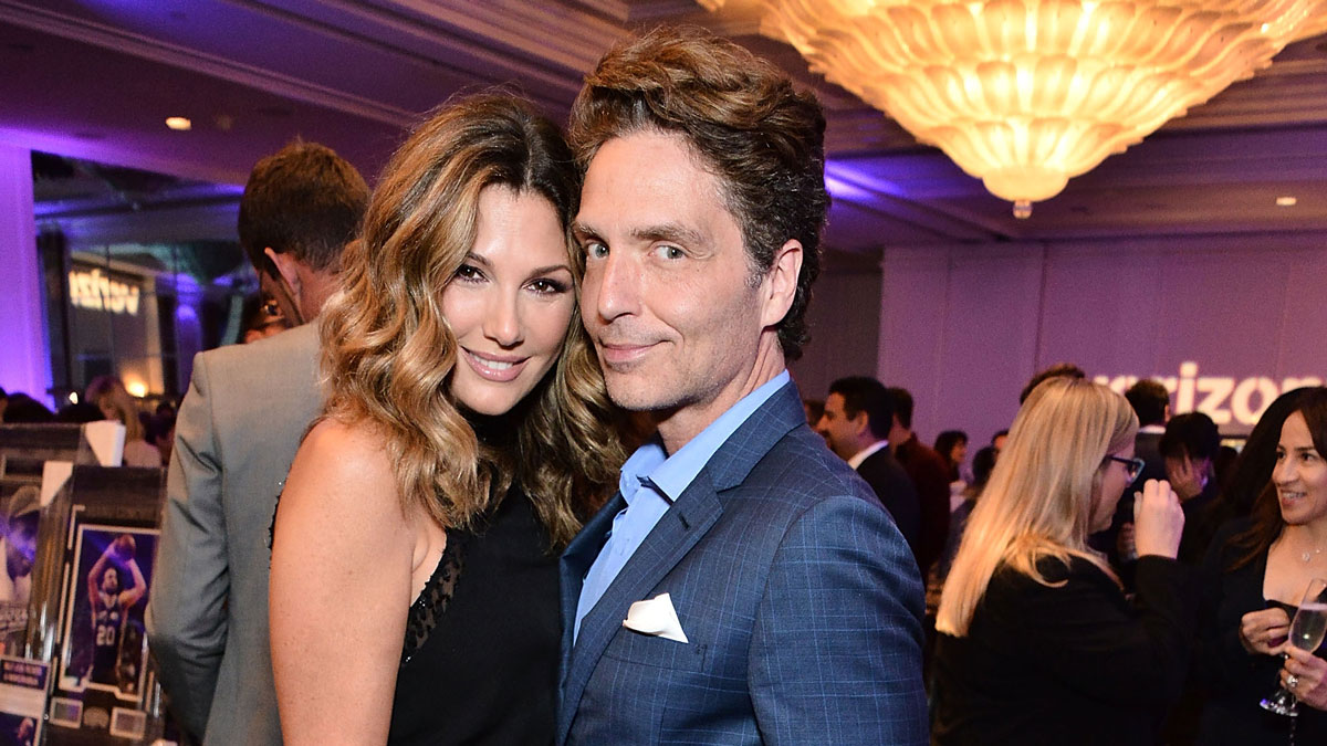 Daisy Fuentes and Richard Marx attend the The Paley Center for Media's Hollywood Tribute to Hispanic Achievements in Television at the Beverly Wilshire Four Seasons Hotel on October 24, 2016 in Beverly Hills, California.