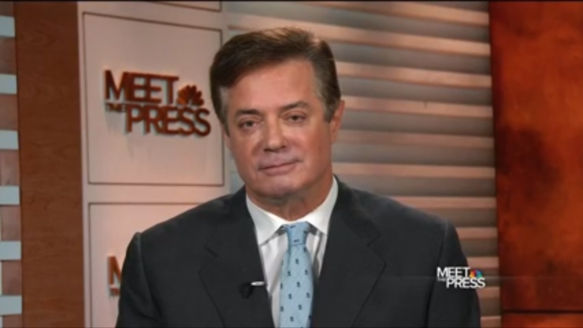 Donald Trump's campaign chair, Paul Manafort, appears on NBC News'