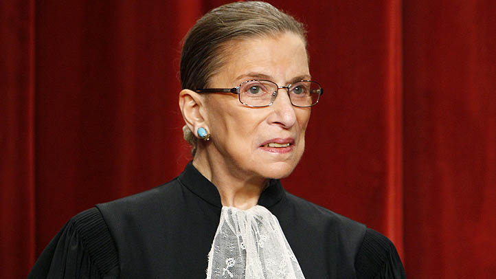 Supreme Court Justice Ruth Bader Ginsburg seen in 2009.