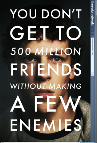 "Here's That ""Social Network"" Poster You've Been Dying For"