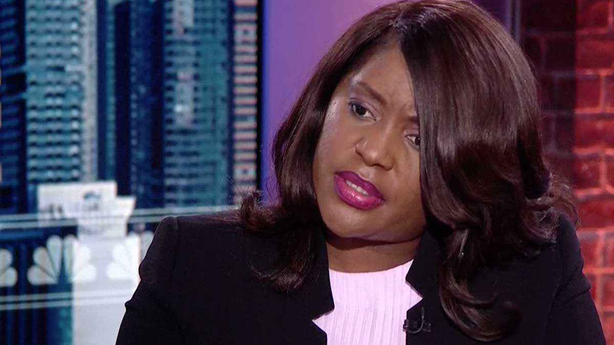 Tiffany Crutcher, the twin sister of Terence Crutcher, speaks on Wednesday, Sept. 21, 2016, about her brother's death in a Tulsa police shooting.