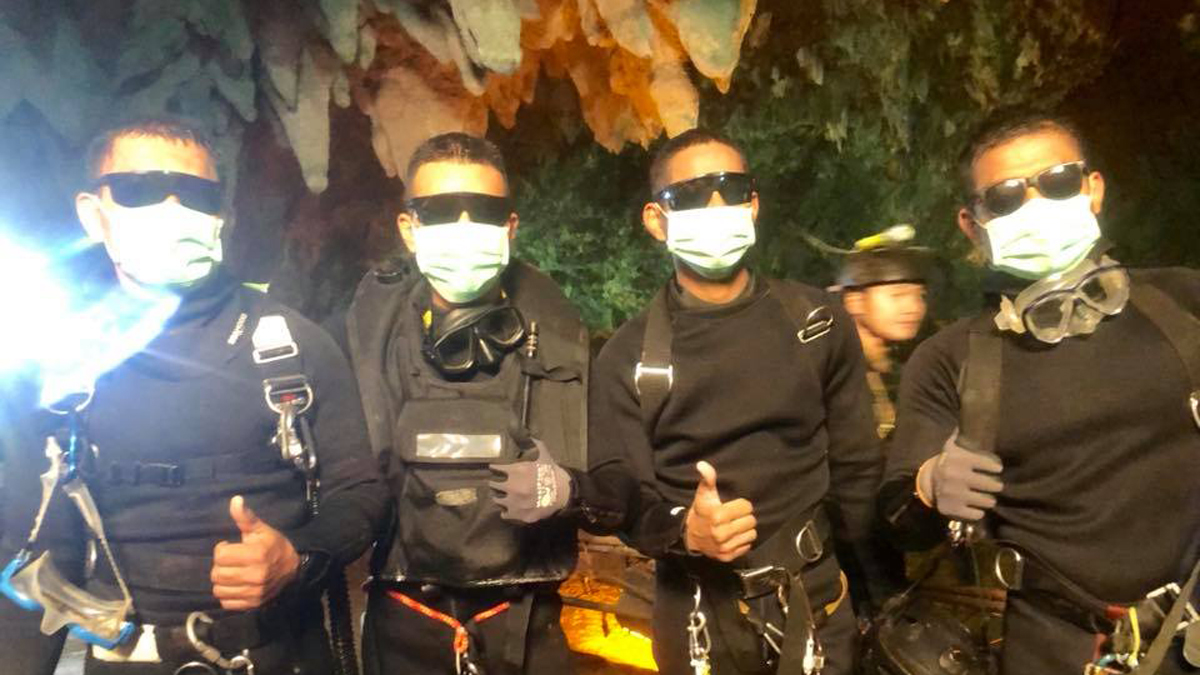 Image result for thai cave rescue ends on tuesday