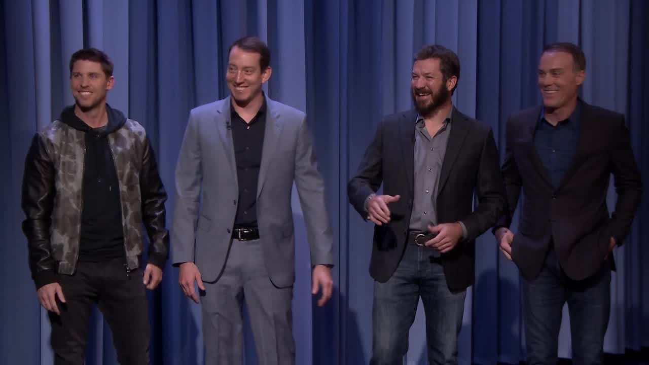 'Tonight': Final Four Teach Jimmy What NASCAR Really Means