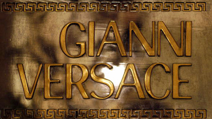 File photo of Versace logo.